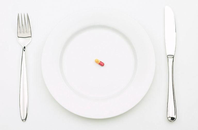 Pill-on-plate